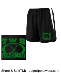 Ladies Velocity Track Short Design Zoom